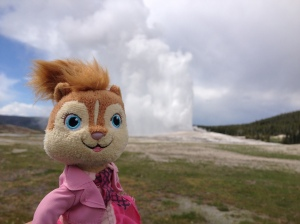 diamond doll at Old Faithful