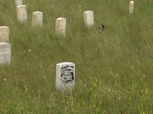 Custer's honorary gravesite