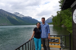 us at Lake McDonald